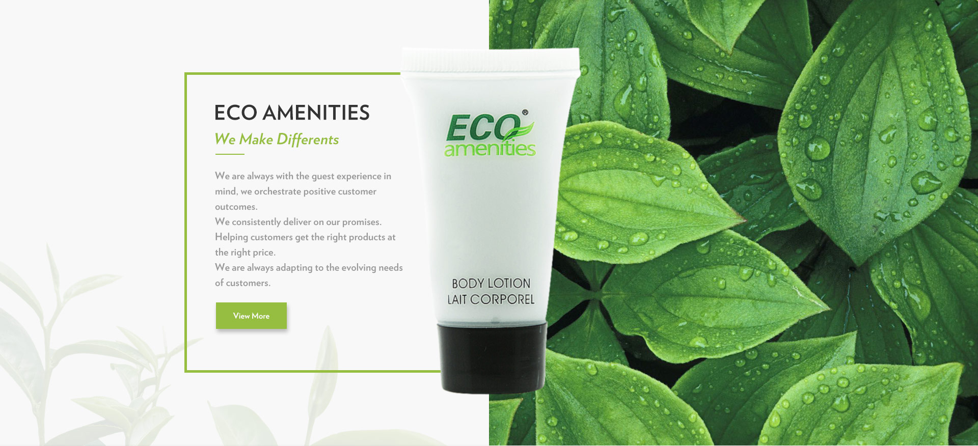 ECO Amenities