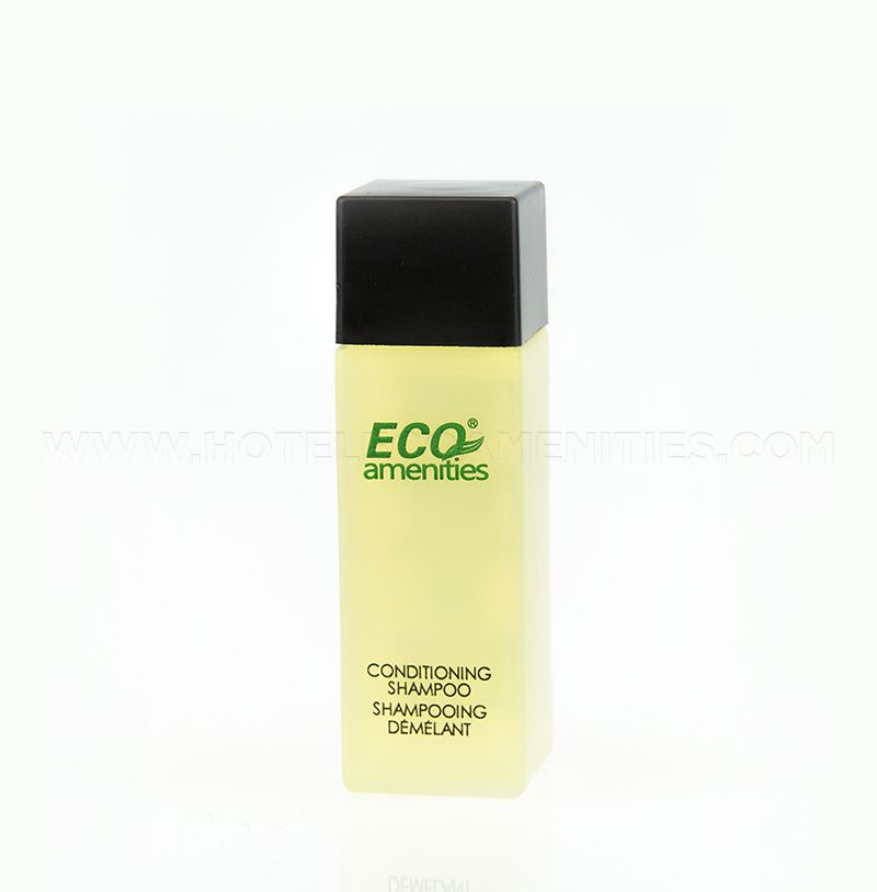 ECO AMENITIES Bottle Hotel Shampoo and Conditioner 2 in 1 28ml/1oz