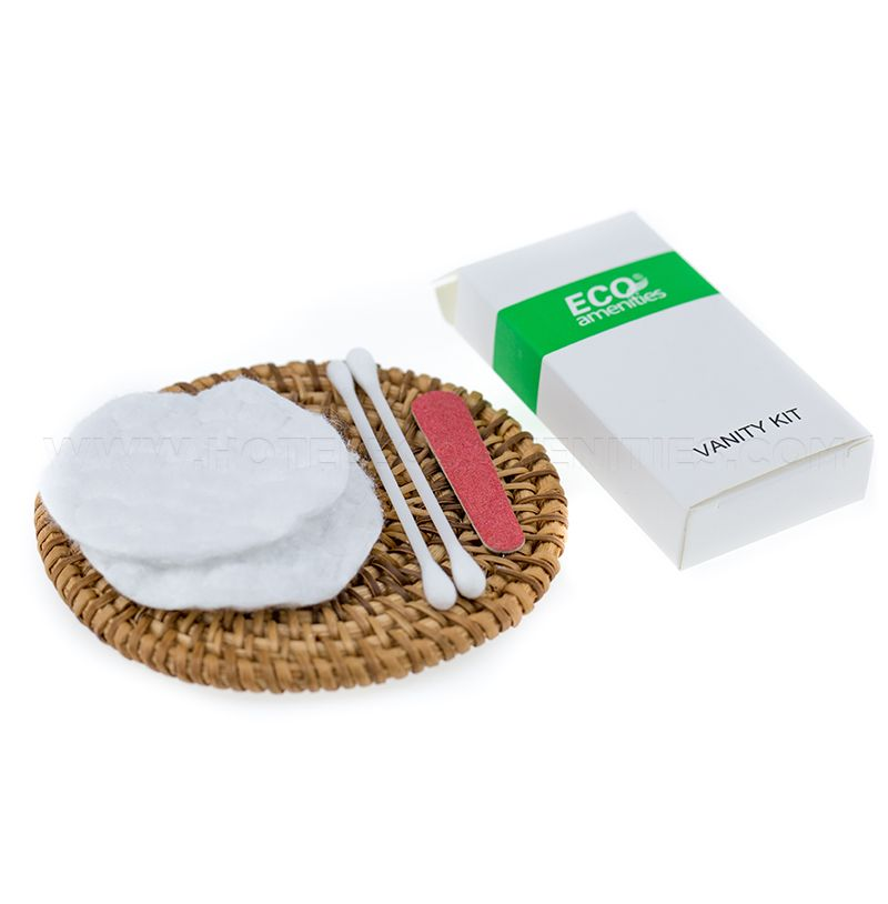 ECO AMENITIES Hotel Cotton Swabs and Cotton Pads