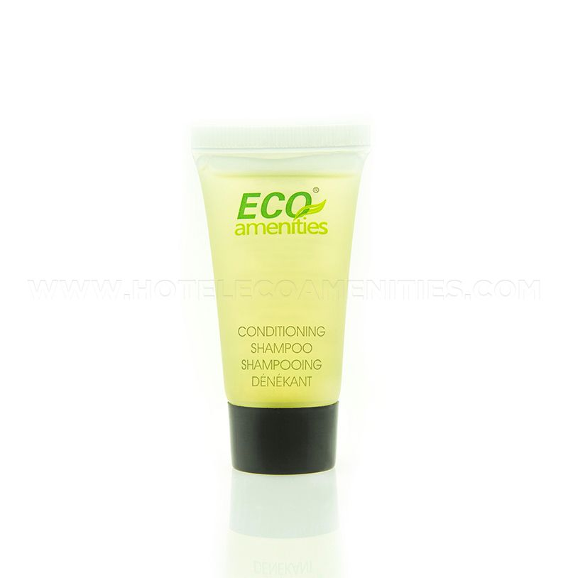 ECO AMENITIES Mini Size Hotel Shampoo and Conditioner 2 in 1 22ml/1oz