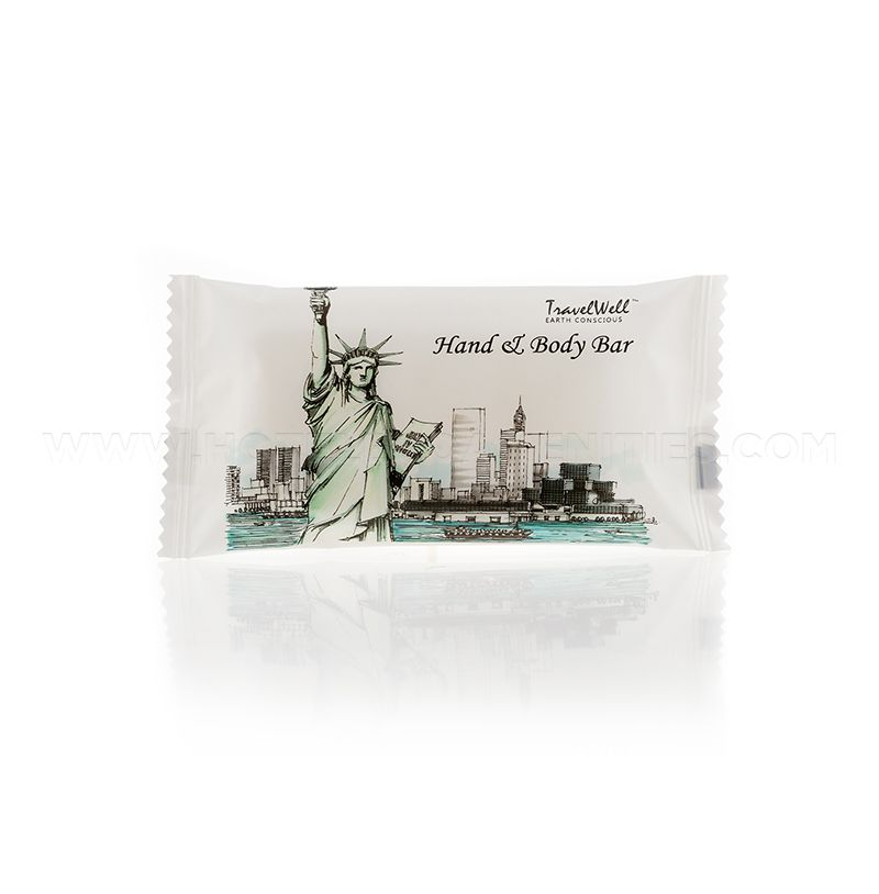 TravelWell Hotel Massage Cleaning Soap 28g/1oz