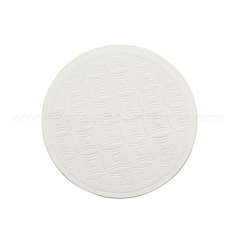 TravelWell Embossed Round 3.54-inch Coaster