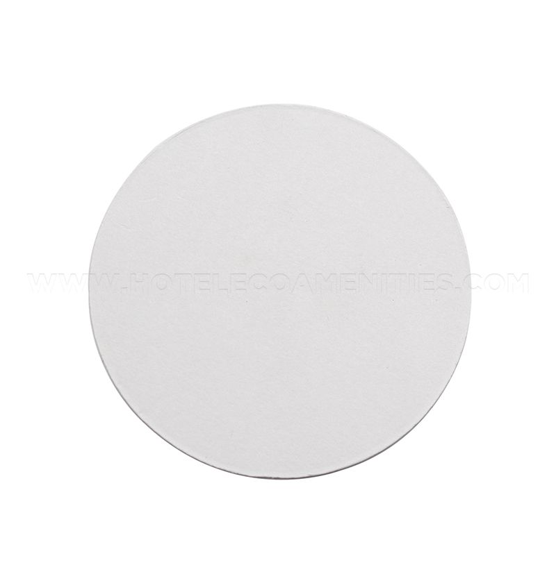 TravelWell Hotel Round Paper Cup Coaster 3.54 Inch