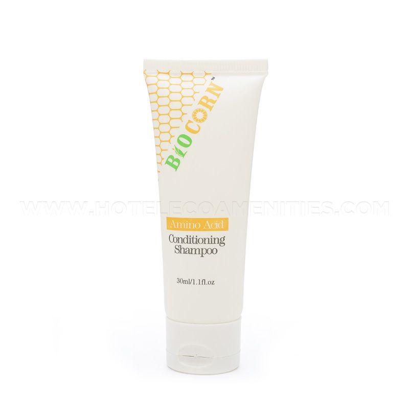 BIOCORN Bio-Plastic Material Hotel Shampoo and Conditioner 2 in 1 30ml/1oz