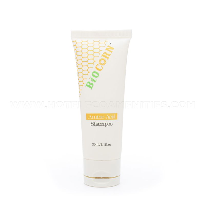 BIOCORN Bio-Plastic Material Hotel Shampoo 30ml/1oz