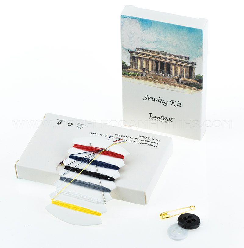 TravelWell Individually Wrap Sewing Kit