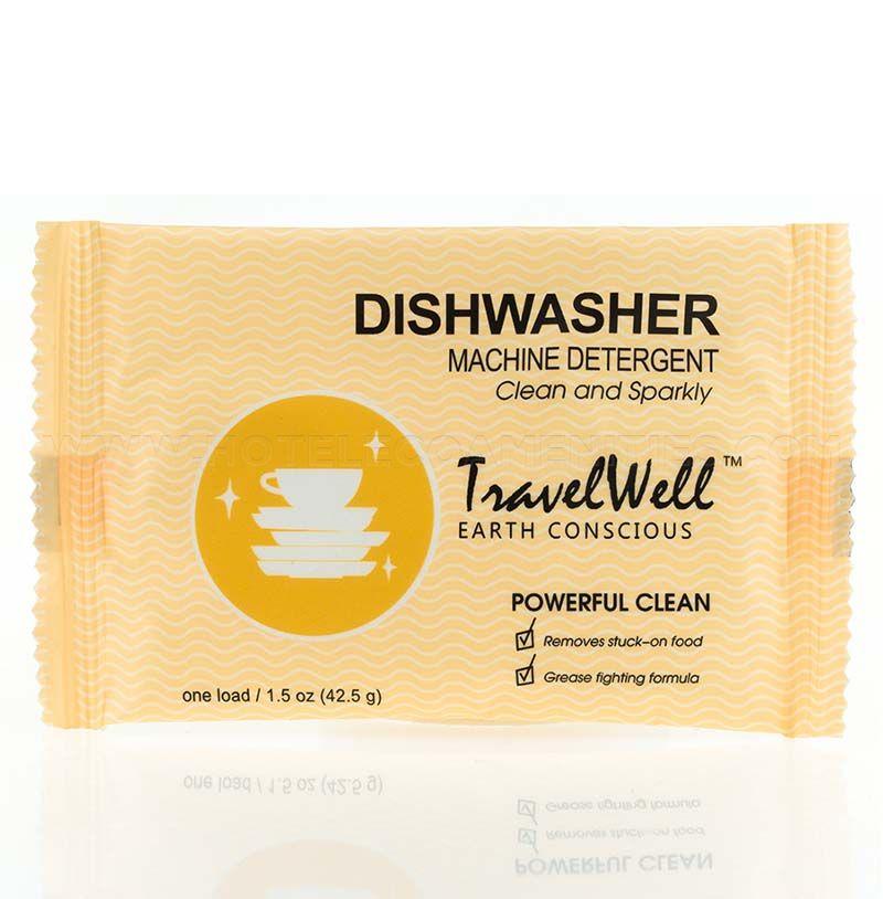 TravelWell Travel Size Dishwasher Detergent 1.5oz