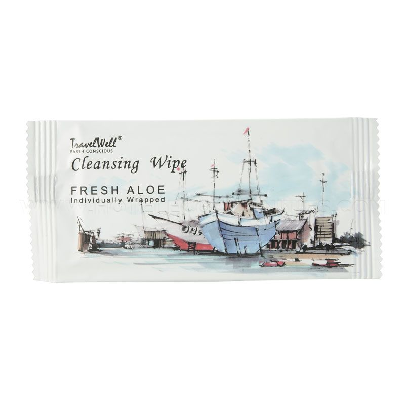 TRAVELWELL Individually Wrap Cleansing Wipes