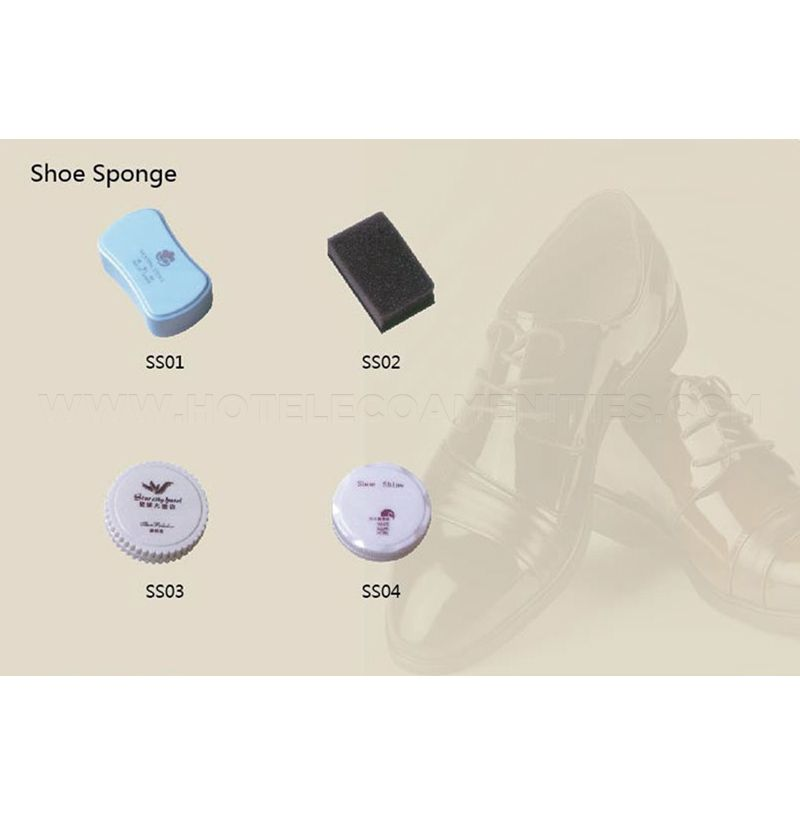 Hotel Shoe Shine Sponge