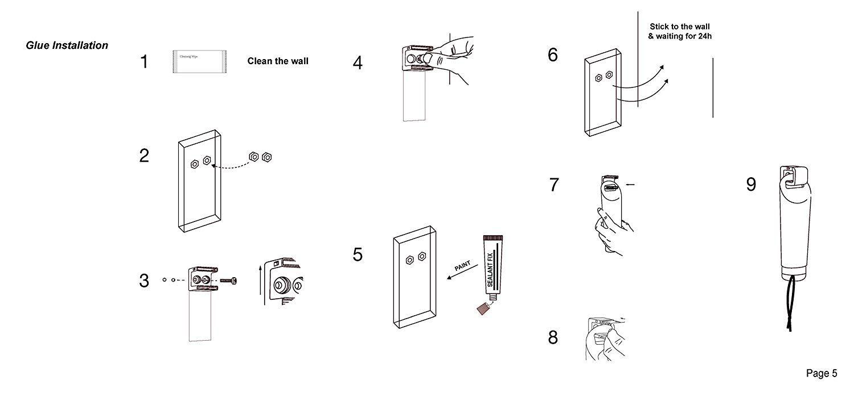 ECO AMENITIES Hotel Shampoo and Conditioner Soap Dispenser